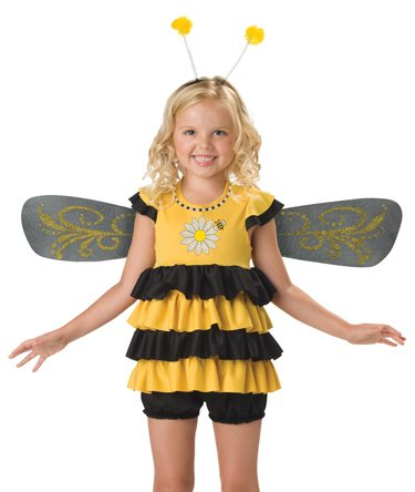 InCharacter Costumes, LLC Girls 2-6X Sweet Bee Dress Set - 1