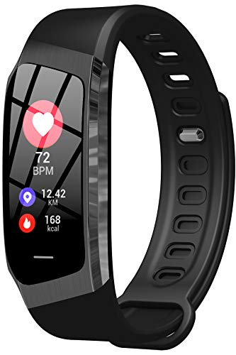 Fitness Tracker Heart Rate Monitor Blood Pressure Sleep Calorie Pedometer Watch Waterproof Activity Tracker for Men Women Kids