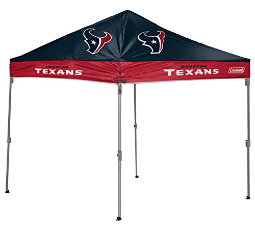 NFL Instant Pop-Up Canopy Tent with Carrying Case, 10x10, Houston Texans