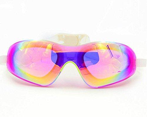 TTYY Taucherbrille HD Anti-Fog wasserdichte große Rahmen Komfortable Silikon für Erwachsene B077YGP4H7 Schwimmbrillen Schnelle Lieferung