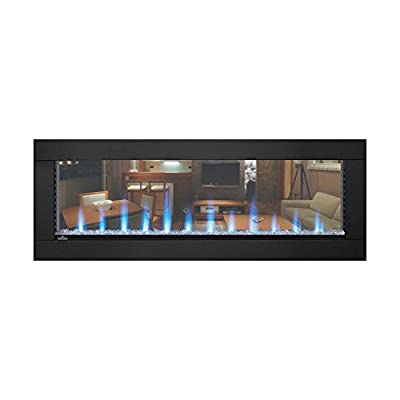 Napoleon CLEARion Built-In See-Thru Electric Fireplace (NEFBD50H), 50-Inch