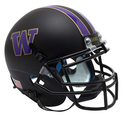 (Schutt NCAA Washington Huskies Mini Authentic XP Football Helmet)