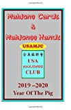 Mahjong Cards & Mahjongg Hands -- USAMJC: 2019 - 2020 Year Of The