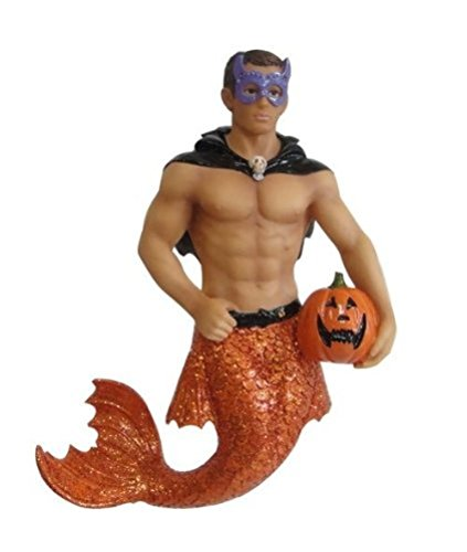 December Diamonds Spookie Halloween Merman Ornament