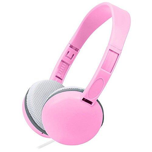 XHKCYOEJ Headset Stereo Headset/Headphones/Headphones/Children/High Fidelity/Cable,Pink: Amazon.co.uk: Electronics