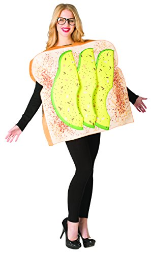 Halloween Bread Costume (Rasta Imposta Avocado Toast)