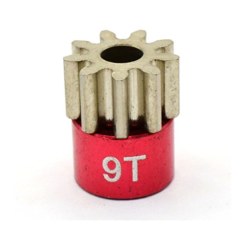 Hot Racing CB209 Red 32 Pitch 9 Tooth Pinion Gear ()