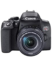 Canon EOS Rebel T8i EF-S 18-55mm is STM Lens Kit, Black