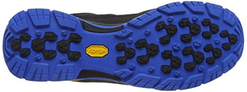 Berghaus Explorer Active GTX Tech, Scarpe da Arrampicata Uomo Multicolore (Black/Bright Blue Z44)