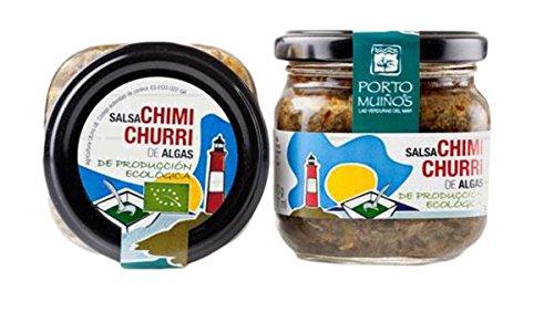 Porto Muiños Salsa Chimichurri de Algas de Producción Ecológica - 212 gr: Amazon.es: Alimentación y bebidas