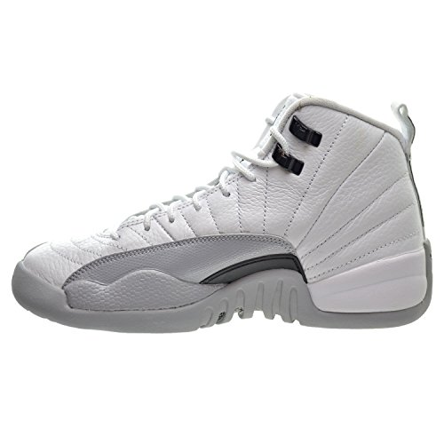 Nike Mädchen Air Jordan 12 Retro Gg Basketballschuhe white, black-wolf grey