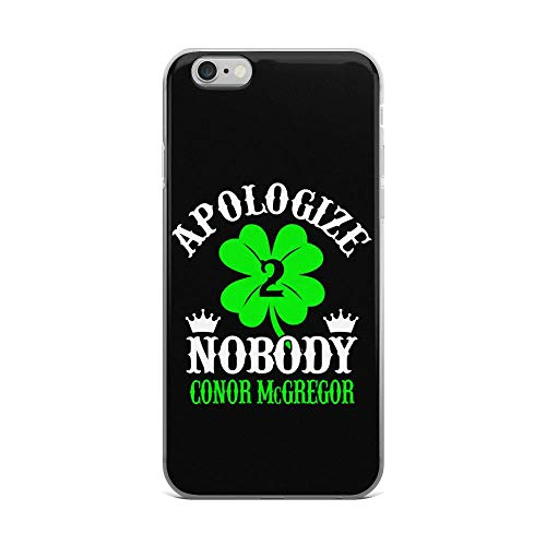 iPhone 6 Plus/6s Plus Pure Clear Case Cases Cover Apologize Nobody Conor McGregor]()