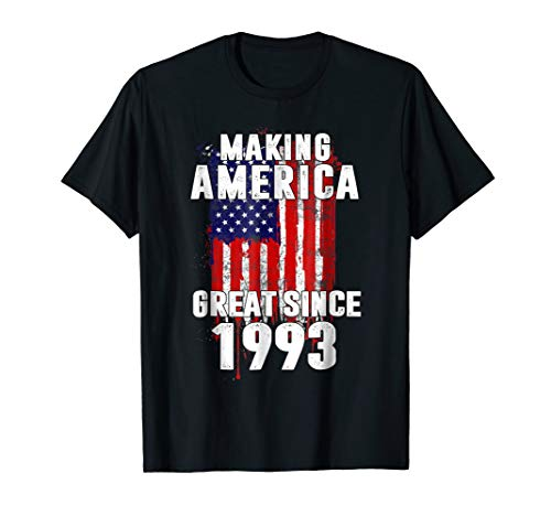 1993 26th Years Old Making America Great Since 1993 T-shirt ()