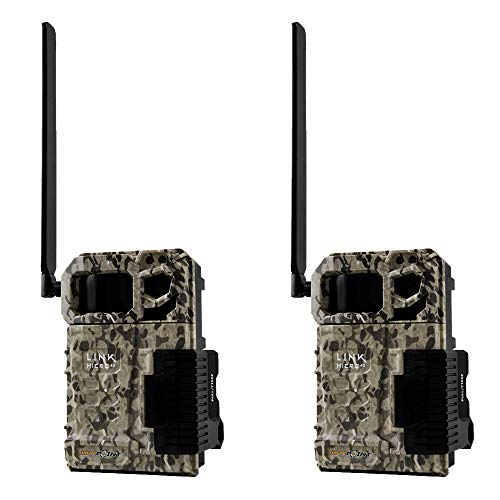 SPYPOINT LINK MICRO Verizon 4G Cellular Hunting Trail Game Cameras (2 Pack) -  LINK-MICRO