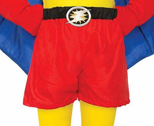 Forum Novelties Child Super Hero Boxer Shorts, Red