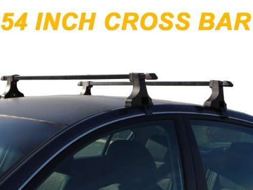 TMS 54 inch Car Top Roof Rack Cross Bars Bar For Snowboard Kayak Canoe luggage Carrier