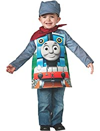 Rubies Costume Thomas and Friends, Deluxe Thomas the Tank Engine and Engineer, Toddler