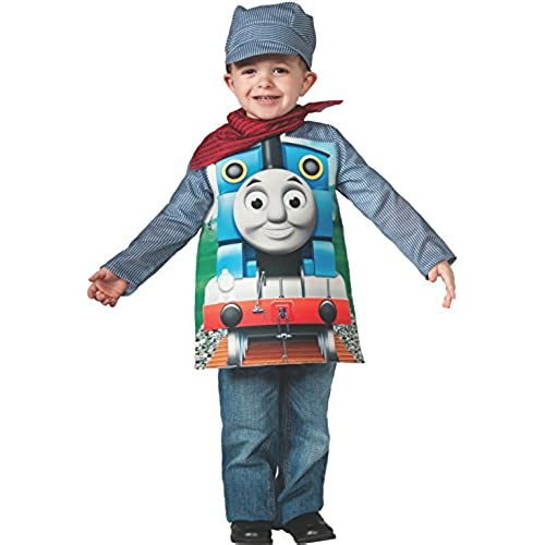 Toddler costumes amazon rubies thomas and friends deluxe thomas the tank engine and engineer costume toddler toddler one color solutioingenieria Image collections
