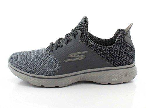 Mens Prestazioni Skechers Andare Camminare 4 Istinto Carbone