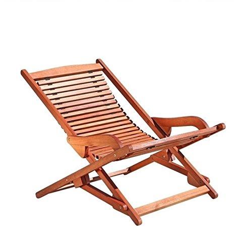 - Pemberly Row Hardwood Chaise Lounge