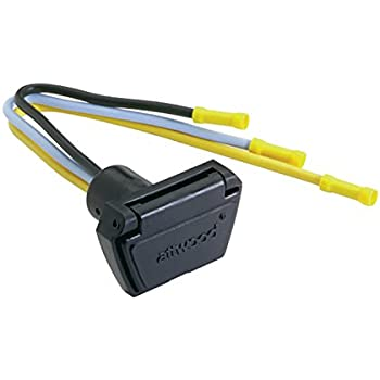 amazon com attwood 7622 7 12v 24v 3 wire trolling motor connector trolling motor bumper atwood (7648 7 12v 24v 3 wire trolling motor connector, 10 gauge
