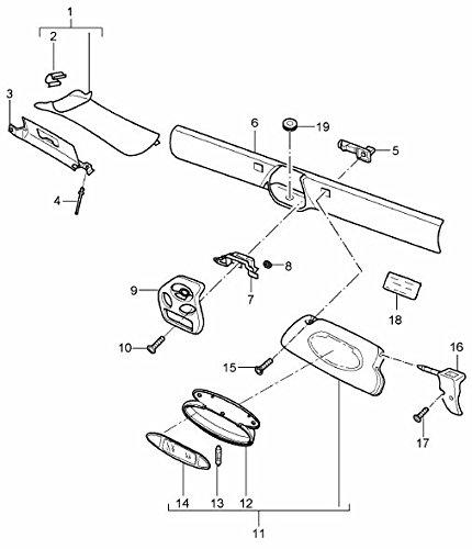 1997 audi cabriolet parts diagram