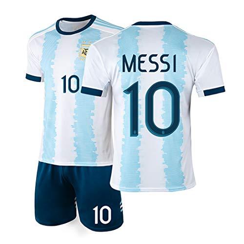 YANDDN Argentina Camiseta 19-20 America's Cup Messi 10# Uniforme de fútbol Uniforme del Equipo Nacional, se Puede…