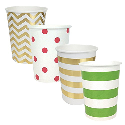 Just Artifacts Party Paper Cups 48pcs Assorted