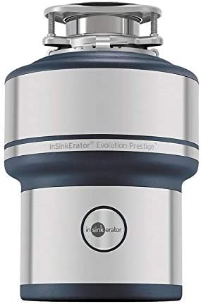 InSinkErator Prestige Evolution Prestige 1-HP Noise Insulated Garbage Disposal, Silver