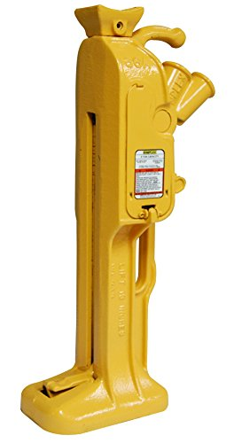 Simplex RJ86A Steel Mechanical Ratchet Jack, 5 Ton Capacity with 13'' Stroke by Simplex