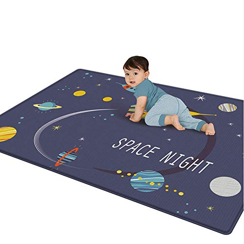 Kids Folding Play Mat Baby Toy Large Size Thickened Baby Foam Crawling Mat Double-Sided Waterproof Soft Portable Playmat , XPE, BPA Free and Non Toxic for Kids Toddler Infants to Play