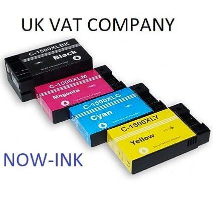 PGI-1500XLY - Cartuchos de Tinta para Impresora Canon PGI ...