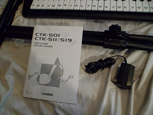 Amazon.com: Casio Electric Keyboard With Stand And Song Books CTK-511: Musical Instruments
