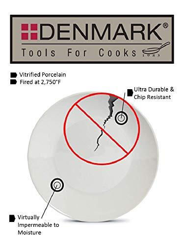 Denmark 12 Piece White Dinnerware Set  LAVORIST