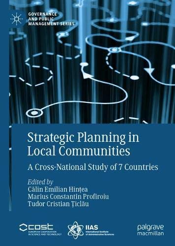 Strategic Planning in Local Communities: A Cross-National Study of 7 Countries