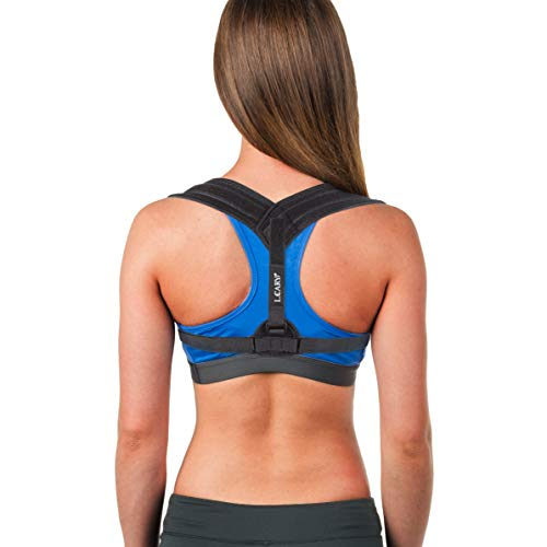 Posture Corrector for Men Women, Adjustable Back Support Brace for Reducing Pain from Neck, Shoulder, Bad Posture, Clavicle Support Brace for Helping Reduce Hunching Slouching (Black)