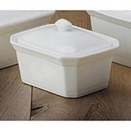 Press Porcelain 17/x 12/x 10/cm White Revol 641229/Terrine Dish with Lid