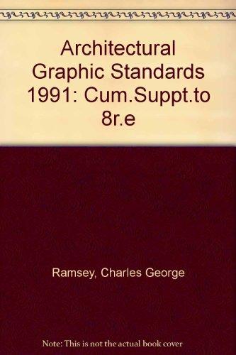 Architectural Graphic Standards, 1991 Cumulative Supplement
