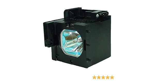 Lamp Assembly Genuine Original Osram P-VIP Bulb Inside. 55VS69A Hitachi TV Lamp Replacement