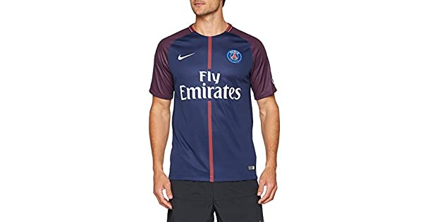 Amazon.com: Nike Paris Saint Germain 17/18 Home Midnight ...