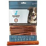 Bully Sticks 6 Inch Regular Size (25 Pcs/Pack) - Premium Bully Stick Dog Chews - Long Lasting Bully Sticks for Dogs - Best Bu