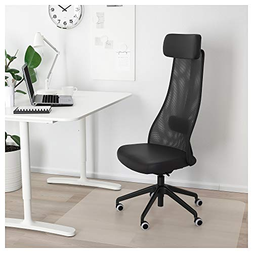 IKEA Järvfjället svängbar stol, glansig svart