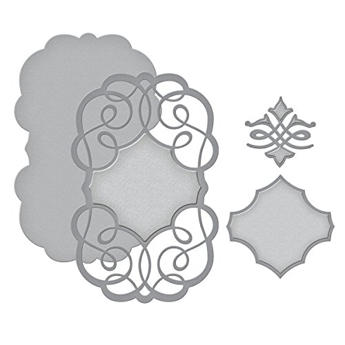 Spellbinders S6-077 Nestabilities Swirling Grace Etched/Wafer Thin Dies (Nestabilities Collection)