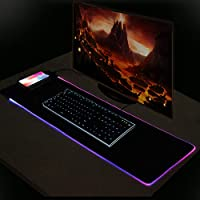 "Wireless Charging Mouse Pad Extra Large RGB Gaming Mouse Mat 31.5/"" x 10.6/'/'"