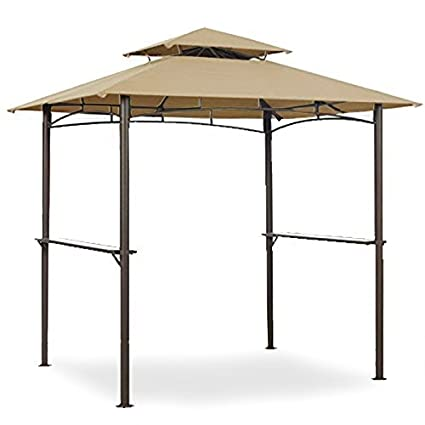 Amazon Garden Winds Grill Shelter Replacement Canopy For Model L GZ238PST 11 Will Not Fit Any Other Gazebo Outdoor