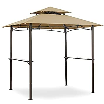 Garden Winds Grill Shelter Replacement Canopy for Model L-GZ238PST-11 (Will not  sc 1 st  Amazon.com & Amazon.com: Garden Winds Grill Shelter Replacement Canopy for ...