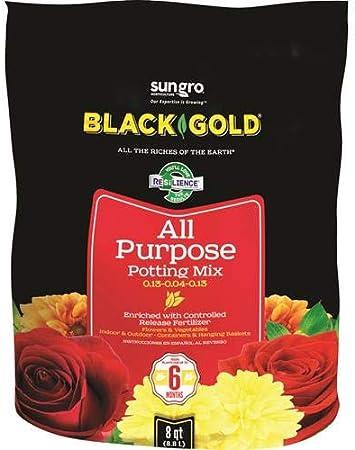 Sungro Black Gold All-Organic Potting Mix Plus Fertilizer