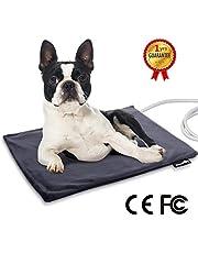 Pecute Haustier Heizkissen Heizmatte für Hund Katze Wärmematte Konstante Temperatur Sicher und wasserdicht Heizdecke