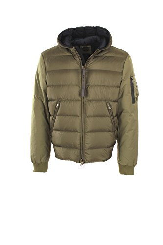 Men`s Down Jacket 1202-3RT SYSTEM by Colmar . Colour Green - Coleccion Autumn-Winter 2017/18 - new model - outdoor - casual style - free time -with fixed hood Militare
