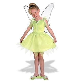 sc 1 st  Amazon.com & Amazon.com: Fairies Tinkerbell Costume: Girlu0027s Size 7-8: Clothing